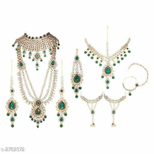 Premium Bridal Kundan Jewellery Set - 1