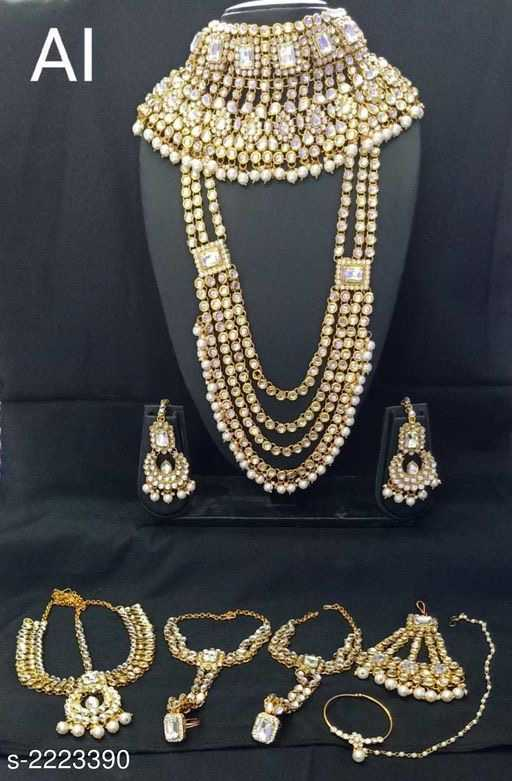Alloy Gold Plated Jewellery - 1