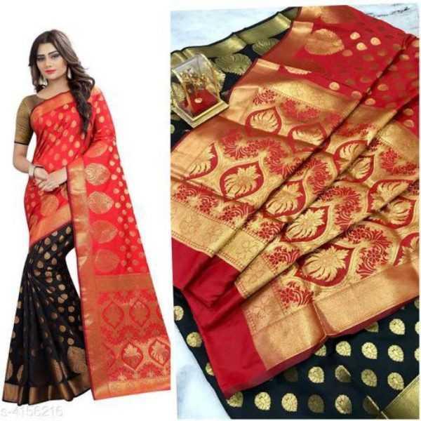 Pretty Womens Banarasi Sarees - 1